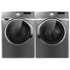 Ensemble laveuse et sécheuse à la vapeur de Samsung