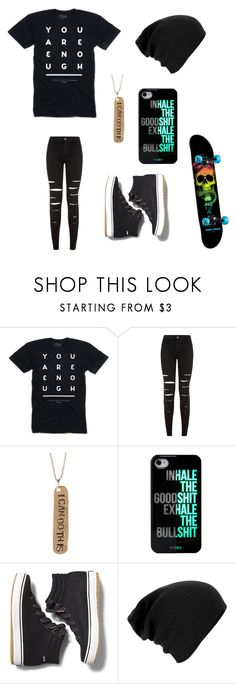 """""""Untitled #109"""" by darksoul7 ❤ liked on Polyvore featuring New Look, Alisa Michelle and Keds"""