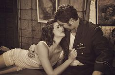LOVE this old fashion styled shoot!