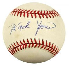 Mack Jones Autographed Baseball - JSA #SportsMemorabilia #MilwaukeeBraves #SweetSpot
