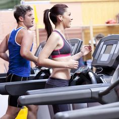 A treadmill workout that will work your booty and blast belly fat? We're in.