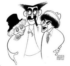 The Art of Al Hirschfeld – The 'Line King' Reigns On   Highbrow Magazine