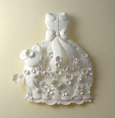 Incredible paper dress