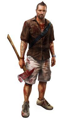 Logan Carter - Dead Island: Riptide Character Concept by Atomhawk Design