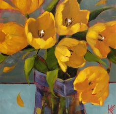 """Daily Paintworks - """"Free to Be"""" by Krista Eaton"""