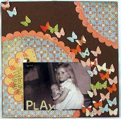 Image result for butterfly scrapbook titles