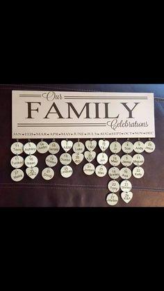 To celebrate family