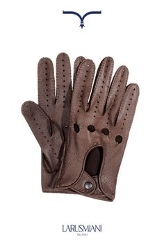 Accessories Collection - Man FW2013 Deer leather gloves #accessories #luxury www.larusmiani.it
