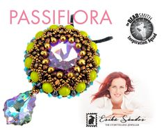 Passiflora pendant instant dowload for the pdf instructions