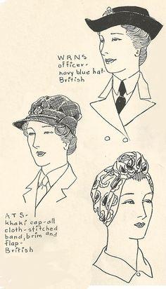 Women's 1940s Hairstyles: An Overview - HAIR AND MAKEUP ARTIST HANDBOOK