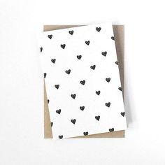 Valentinstagskarte  Herzen