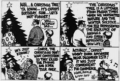 The perils of actually knowing the history of Christmas...