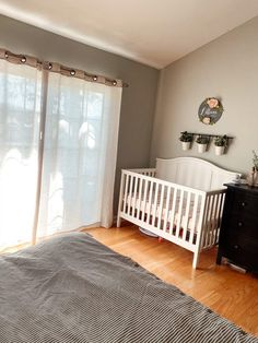 The cutest little mini nursery in the corner of a master bedroom! Absolutely love the clean white crib and florals! #farmhouse #farmhousenursery #girlnursery Cozy Reading Corners, Nursing Chair, Girl Nurseries, Baby Necessities, Mini Crib, Baby Girl Fashion, Girl Style, Cribs, Small Spaces