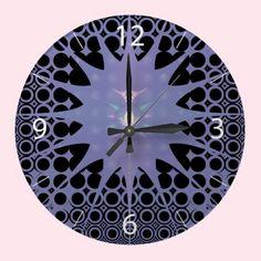 #Purple #Space #Clocks