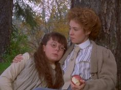 Emmeline and Anne. Anne of Green Gables: The Sequel. Anne Of Avonlea, Road To Avonlea, Anne Of The Island, Megan Follows, 3 Movie, Anne Movie, Tomorrow Is A New Day, Image Film, Gilbert Blythe