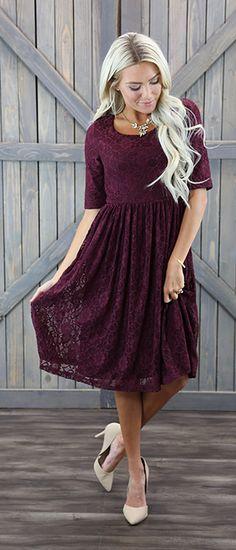 Emmy dress [MDS1615] - $54.99 : Mikarose Boutique, Reinventing Modesty