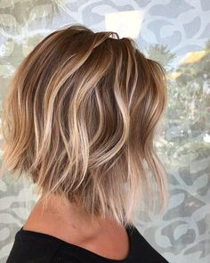 Blonde-Balayage-Bob-Hair-Style Popular Bob Hairstyles 2019 In this article, we will discuss some Popular Bob Hairstyles 2019 that you will like! Salt and pepper angled bob is a great hairstyle. Textured Bob Hairstyles, Messy Bob Hairstyles, Haircuts For Fine Hair, Short Bob Haircuts, Longer Bob Hairstyles, Textured Haircut, Stylish Hairstyles, Straight Hairstyles, Girl Hairstyles