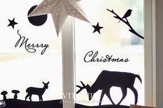 Christmas window, Advent window, make your own, design, - Dekoration Trends Site Christmas Design, Winter Christmas, Merry Christmas, Christmas Windows, Paper Art, Paper Crafts, Classroom Decor, Seasonal Decor, Decoration