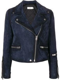 Coach biker jacket - Blue