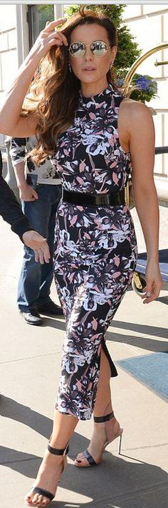 Kate Beckinsale wearing Francesco Russo and Dana Rebecca