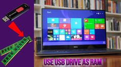 Increase RAM using USB flash drive/pen drive on PC/Laptop [How to]