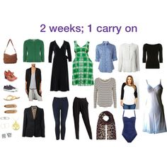 2 weeks, 1 carry on | my holiday suitcase for 13 days in Perth, Western Australia during Autumn