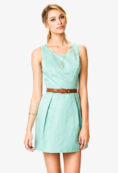 Pleated Fit & Flare Dress | Forever 21 - 2021841020