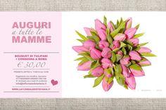 Festa della Mamma fra qualche giorno, è una occasione perfetta per spedire i fiori alla tua Mamma! Sorprendila con originalità! Basta chiamarci: 06 305 4546 BOUQUET DI FIORI MISTI + CONSEGNA A ROMA € 30,00! L'offerta valida per chi prenota entro 11/05/14 ore 12:00. Consegna gratuita entro GRA di Roma il 11 maggio 2014 #fiori #festadellamamma #mothersday #bouquet #fioriroma #tulipani