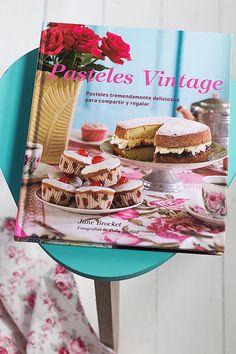 Pasteles Vintage, de Jane Brocket. Sorteo de dos ejemplares