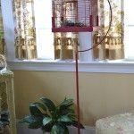 More Spring Fever Decorating {Vintage Bird Cage Makeover}
