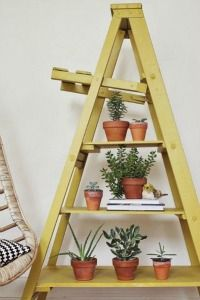 Ladder Shelf. For the bedroom.
