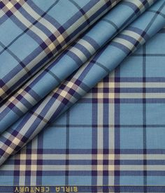 Suit Fabric, Blue Fabric, Diwali Sale, Fabric Photography, Check Shirt Man, Textiles, Self Design, Twill Shirt, Fabric Textures