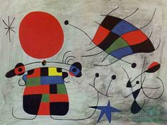 Joan Miró The Smile of the Flamboyant Wings, 1953