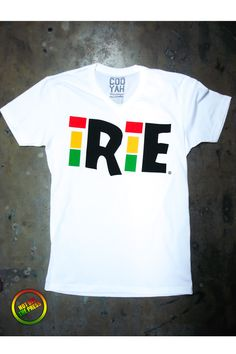 "Hot Off The Press!!! New Cooyah Summer Look Great Fitting Shirts For The Summer Selling Fast Get Yours Today! The Saying ""Irie"" Means To Be At Peace With Your State Of Being. The Way You Feel When You Have No Worries. $28 at Cyevolution.com #irie #Cooyah #reggae"