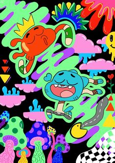 Items similar to Gumball And Darwin ~ Print on Etsy Halloween Wallpaper Iphone, Cartoon Wallpaper Iphone, World Of Gumball, Photo Wall Collage, Indie Kids, Funny Wallpapers, Cartoon Art, Cartoon Network, Graffiti