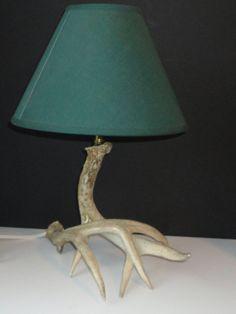 Natural Deer Antler Lamp by Cosasraras on Etsy, $50.00