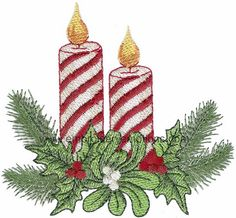 Christmas - Victorian Machine Embroidery Design