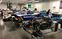 F1 Racing, Racing Team, Car Workshop, Williams F1, Formula 1 Car, One Team, Race Cars, Garage, Ford