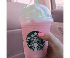 #pink #cute #starbucks #basic