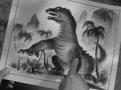 Identifying the culprit.  THE BEAST FROM 20,000 FATHOMS (1953)
