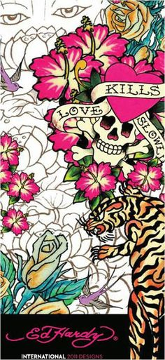 Ed hardy pictures images photos picturescafe page - Ed hardy designs wallpaper ...