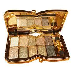 10 colori Diamond Shining ombretto tavolozza trucco cosmetici Foundation Eye shadow Palette con bifacciale numero Set di trucco bastone strumento 6