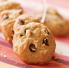 CANNOLI COOKIES http://www.finecooking.com/recipes/orange-chocolate-chip-cookies.aspx #Cookies