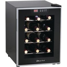 Magic Chef  MCWC12SV  MAGIC CHEF MCWC12SV 12Bottle Wine Cellar * You can find more details by visiting the image link.