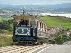 Great Orme Tramway, Llandudno, Wales, UK.
