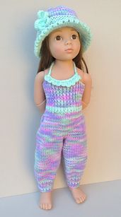Ravelry: 49 Playsuit Duo pattern by Jacqueline Gibb