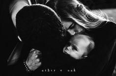 Moody and Authentic Family Portraits by Asher + Oak Photography / Boston Massachusetts Photographer / Motherhood, Baby, Newborn / More at asherandoak.com