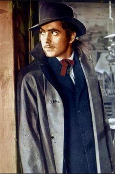 Tyrone Power in Jesse James  (1939)