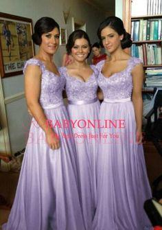 vestido de festa longo,lilac lace bridesmaid dresses ,long party dresses