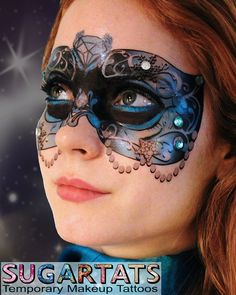 1000 images about body paint and costume on pinterest for Face tattoo makeup